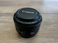 Canon EF 50mm 1.8 MK 2 Prime Lens Excellent Condition With Autofocus & Caps