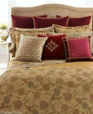 RALPH LAUREN Venetian Court Tapestry Neutral Gold King Dust Ruffle Bedskirt NEW