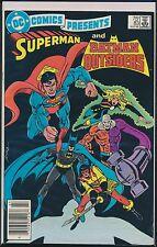 DC Comics Presents #83 (1978-1986, DC) Superman & Batman / Outsiders FN