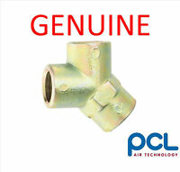 """GENUINE PCL Y PIECE 3 WAY CONNECTOR SPLITTER FITTING 1/4"""" BSP THREAD"""