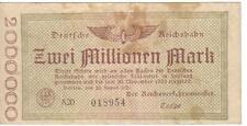 GERMANY, 2 MILLIONEN MARK, 1923