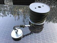 Magnetangeln Set Fix und Fertig ! Neodymmagnet & 50m Bundeswehr PPM Seil