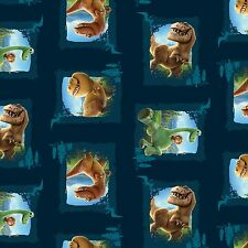 "2 yards Disney The Good Dinosaur ""Scenic Patches""   Fabric"