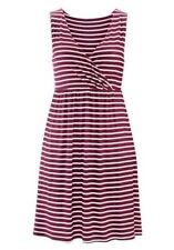 Damenkleider mit V-Ausschnitt aus Viskose in Größe 40