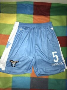 PANTALONCINI MATCH WORN LAZIO LUKAKU ISSUED MAGLIA INDOSSATA ISSUED UNWASHED