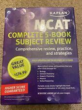 Kaplan MCAT science study books - Good for GAMSAT & ACER practice Qs