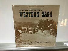 """Bernard Herrmann SEALED 12in Lp """" Bernard Herrmann's Western Saga """""""
