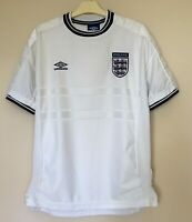 ENGLAND NATIONAL 19992001 HOME FOOTBALL JERSEY CAMISETA SOCCER SHIRT VINTAGE