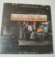 Elton John Don't Shoot Me LP with Book MCA-2100RARE GLOVERSFIELD PRESS VG+ /G+