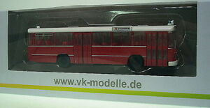 1:87 VK Modelle MAN Metrobus 750 HO - M 11 A / Feuerwehr Pforzheim
