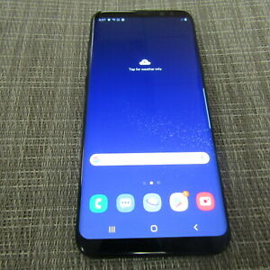 SAMSUNG GALAXY S8+, 64GB - (SPRINT) CLEAN ESN, WORKS, PLEASE READ!! 40479