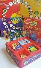 The Wiggles - Wiggly Fun Metal Tin ~ 3 Activities ~ Board Game + Puzzle + Cards