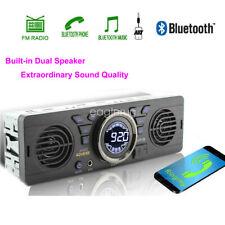 Car Radio Speaker MP3 Player TF Stereo USB Bluetooth FM 12V In-Dash SD AUX 1 Din