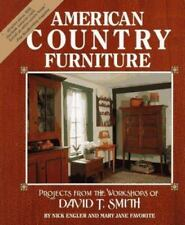 EXCELLENT - American Country Furniture: David T. Smith - HARD COVER