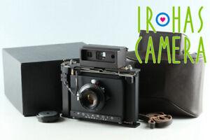 Polaroid Model 185 + Tominon 114mm F/4.5 Lens #30639 L6