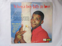 "MEL CARTER: when a boy falls in love Derby Records 12"" LP 33 RPM Free SHipping"