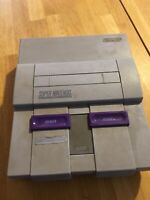 Super Nintendo SNES Replacement Console Only Tested & Works NICE System