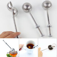 Strainer Stainless Scalable Mesh Tea Steel Infuser Filter Loose Steeper Diffuser