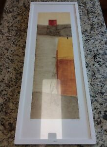 Geometric Print Limited Edition Abstract Lithograph Hand Signed Selma Daffre