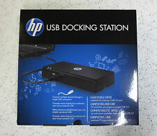 NEW HP USB 2.0 Universal Mobile Laptop Docking Station AY052AA