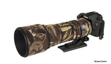 Sigma 150 600mm CONTEMPORARY Protection Neoprene lens cover : Brown Camo