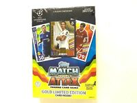 2017-18  TOPPS MATCH ATTAX SOCCER TRADING CARD GAME BOX