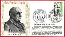 1986-FDC 1°Jour-Année International de la Paix -V.Basch-(17)La Rochelle-Yv.2415