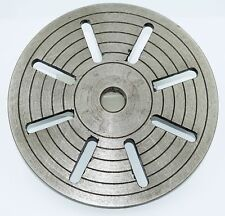 """9"""" Cast Iron Faceplate To Suit Myford ML7 Lathe  (Ref: 112170)  From Chronos"""