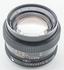 Konica Hexanon AR Autoreflex 50mm 50 mm 1.4 1:1.4