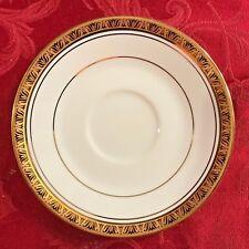 """Noritake Legacy Gold Saucer Plate  #4280  6"""""""