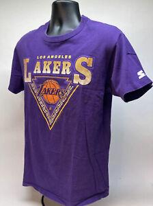 Vtg Rare 1991 Starter Singled Stitched LA Lakers T-Shirt Sz Large Magic EUC P1
