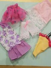 Mattel Barbie Skipper Misc Clothes Lot Of 5