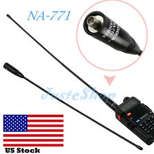 NEW 144/430 MHz NA-771 Antenna SMA Female 2.5dB Gain For Kenwood Baofeng Nagoya