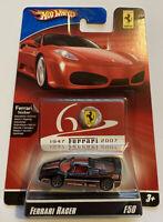 2007 Hotwheels Ferrari Racer F50 Black 11/24 60th Anniversary MOC! VERY RARE!