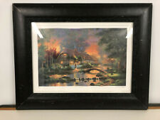Andrew Warden Sunset Stream Seriolithograph 22 x 16.5