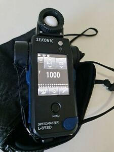 Sekonic L-858 Speedmaster light meter