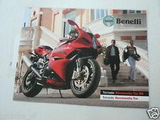 D812 BENELLI BROCHURE TORNADO NOVECENTO TRE RS ENGLISH/ITALIAN 12 PAGES