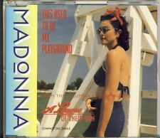 MADONNA-this used to be my playground 3 trk Maxi CD 1992