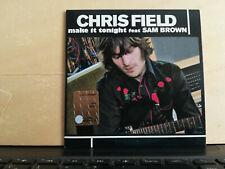 CHRIS FIELD - MAKE IT TONIGHT featuring SAM BROWN - CD singolo cardsleeve