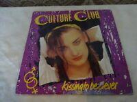 Culture Club Kissing to be Clever Original LP Album Record Vinyl