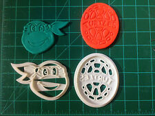 Teenage Mutant Ninja Turtle engraved cookie cutter