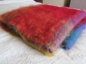 Cape Mohair throw / blanket in 100% Mohair