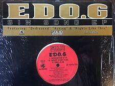 EDO.G SIX SONG EP 1996 OG JAPAN IMPORT RED LABEL EX