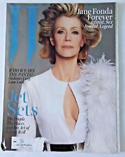 W MAGAZINE JUNE/JULY 2015 JET SETS ISSUE FEATURING JANE FONDA FOREVER  (D2)