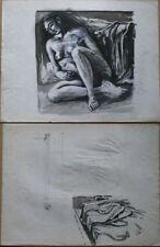 Dessin du XXe siècle et contemporains personnage pour expressionnisme