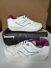 Saucony Jazz Court Ladies Tennis Shoes Size 4.5 UK - 37.5 EUR - 6 USA