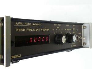 AWA AUSTRALIA RADIO NETWORK FREQUENCY PERIOD UNIT COUNTER TESTER, POWERS ON A1