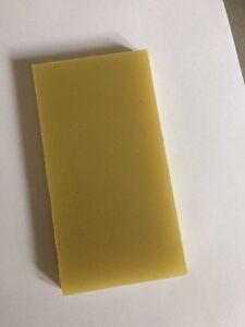 G10 Jade Green 10mm x 75mm x150mm for knifemaking scales handles wood/bush craft