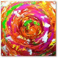 Atelier Culari Art Unikat Bilder Gemälde 40 x 40 Kunst Abstrakt  Nr.603