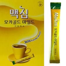 Maxim Mocha Gold Mild Coffee Mix Instant coffee mix enjoyed by Koreans 12g